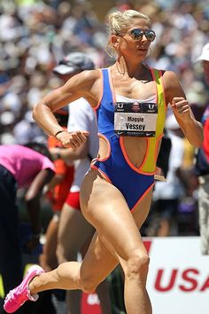 Maggie Vessey's On-The-Track Fashion | Runner's World