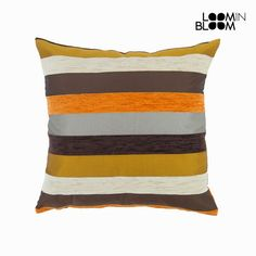 Cuscino motegi arancione - Colored Lines Collezione by Loom In Bloom Cushion Covers, Home Furniture, Home And Garden, Bloom, Throw Pillows, Orange, Collection, Decor, Toss Pillows