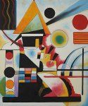 balancement swinging by wassily kandinsky paintings
