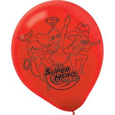"""Check out DC Super Hero Girls 12"""" Latex Balloons (6 Count) 