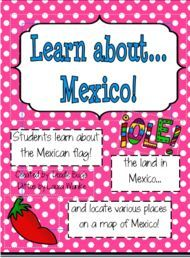 Fun activities to learn about Mexico...goes great with a Cinco de Mayo unit!