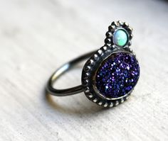 love the opal and drusy combo
