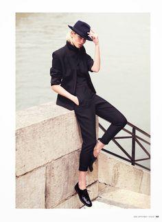 visual optimism; fashion editorials, shows, campaigns & more!: paris, c'est chic: hana jirickova by david bellemere for vogue thailand septe...