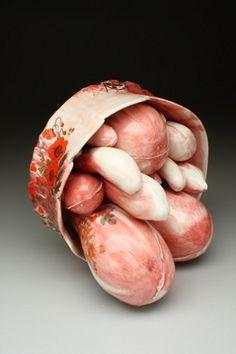 Chigiri-e (Astro Rose). Valerie Zimany. Click through for more.