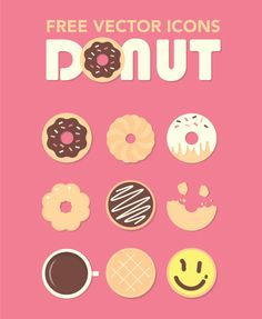 ⬇ Free download: donut icons