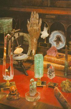 Splendide ensemble cristallin