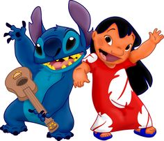 TOUCH this image: My favorite movie, Lilo and Stitch by Sally