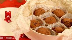 Ideální cukroví na poslední chvíli. Lahodné čokoládové bonbony s příchutí griotky jsou skvělé i jako originální jedlý dárek pro vaše blízké.