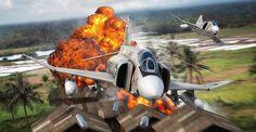 Digital aviation artwork