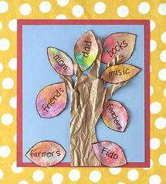 100 Days of Holidays: Hand Tree (via Parents.com)