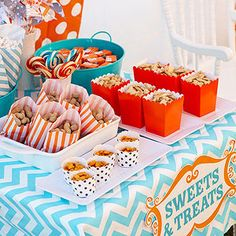 Circus Party Snack Table