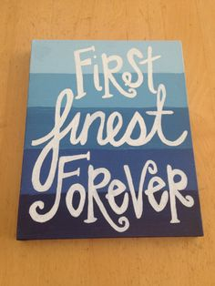 ADPi diy craft for my little!! - First Finest Forever - ombré