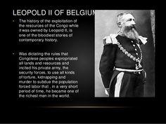 King leopold ii of belgium - I had no idea! Congo, King Leopold, Contemporary History, Political Beliefs, African History, Library Books, Queen Victoria, Black History, Belgium