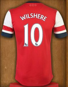 2013-2014 new seasons best Thai quality Arsenal home soccer jersey Wilshere  jersey  26.00 3c5cd61f8