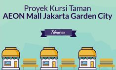 Kursi Taman AEON Mall Jakarta Garden City - FilMaria