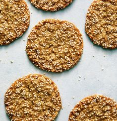 Sesame Cookies With Cardamom and Orange Zest — Real Simple Recipe For Sesame Cookies, Sesame Seeds Recipes, Seed Cookies, Cookie Recipes, Dessert Recipes, Galletas Cookies, Orange Zest, Just Desserts, Sweet Tooth