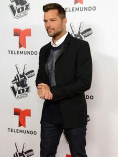 Ricky Martin... Red Carpet