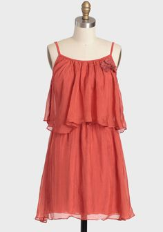 Tuscan Poppies Tiered Dress at #Ruche @shopruche