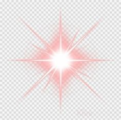 Lens Flare, Star Shape, Make It Yourself, Shapes, Red, Flare