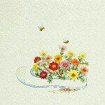 야생화자수 작가 김주영 wildflower embroidery artist Juyeong Kim