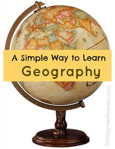 Map Tracing--A Simple Way to Learn Geography - Home - Homegrown Learners