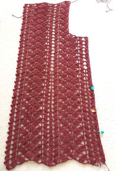 Crochet Ribbon Cardigan Making – Asuman Demir – Join in the world of pin Crochet Vest Pattern, Crochet Cardigan, Crochet Patterns, Filet Crochet, Crochet Stitches, Crochet Top, Dress Patterns Uk, Simple Elegant Dresses, Crochet Leaves