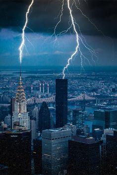 Thunder! New York City • (by Frank Hazebroek)