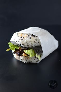 The Sushi Burger that started it all! Tender Teriyaki Steak and a delicious runny egg with seasoned Sushi Rice Buns! A delicious, fun, & filling meal! Sushi Recipes, Burger Recipes, Asian Recipes, Vegetarian Recipes, Cooking Recipes, Healthy Recipes, Ethnic Recipes, Sushi Burger, Gourmet Burgers