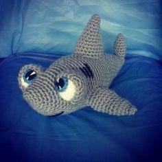 Patrón Tiburón Amigurumi