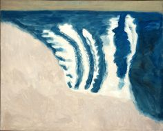 Milton Avery Rolling Surf, 1958 oil on canvas, 54 x 56 inches  Courtesy Knoedler & Company