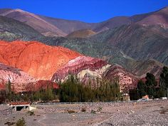 * 7 Colours Hill, Purmamarca, Province of Jujuy Argentina