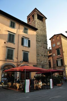 Lucca, Italy - recognised the picture instantly.