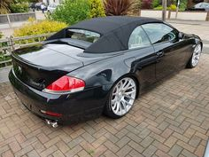 Bmw M6 Convertible, Bmw 650i, Bmw 6 Series, Bmw Cars, My Ride, Cars And Motorcycles, Euro, Automobile, Board