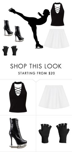 """""""Black and white"""" by ilariasophia-fiore ❤ liked on Polyvore featuring Miss Selfridge, RED Valentino, Dsquared2 and Icebreaker"""
