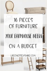 All of the best vintage, farmhouse style affordable pieces you need from World Market's off furniture sale!