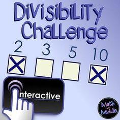 Interactive Divisibi