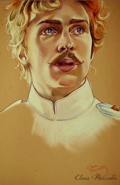 Alekséi Vronsky by Elena Pancorbo, via Behance