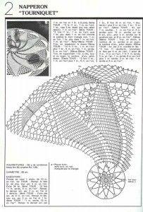 Photo from album on Yandex. Crochet Doily Diagram, Crochet Edging Patterns, Filet Crochet Charts, Crochet Motif, Knitting Patterns Free, Free Crochet, Free Knitting, Crochet Table Topper, Crochet Tablecloth