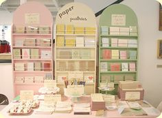 Cute craft show display