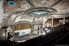 Historic, sad theaters.