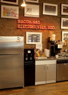 #bacon #neon #signs