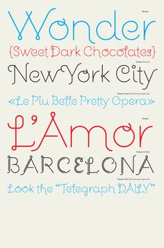 Tuesday Type Treat: Guapa, A Display Font By Laura Meseguer on http://blog.howdesign.com