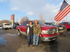 """""""Jay has been wonderful, has answered all our questions, and very professional. he has gone above and beyond our expectations"""" -Sam V. Thanks Sam, and a BIG thanks from the Auto Group! We appreciate the opportunity to earn your business, and hope you and Darlinda enjoy your new Ram 1500!"""