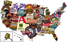 Craft Beers of the United States (One Beer Per State!)