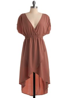 Peach Dress /Mod Cloth