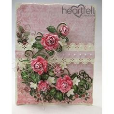 Gallery | Classic Pink Rose Spray - Heartfelt Creations