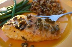 Halibut with Lemon Caper Pan Sauce is easy and delicious. Taking 20 minutes or less to make, the recipe is a great choice for mid-week meals. The recipe is from Alaska from Scratch, this week's Blog of the Week.