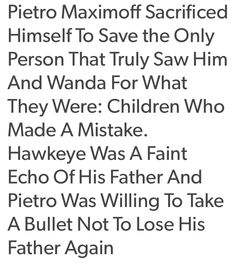 Okay.  Pietro Maximoff has officially ruined me.  First Loki.  Then Bucky.  And now Pietro.