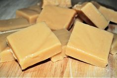 Scottish Tablet (our version of a crumbly, melt in the mouth toffee) in the microwave.