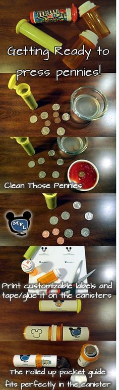 Walt Disney World Pressed Penny/Coin Check List and Guide Found! a great way to give the girls a small gift of coins for all the pressed penny machines in WdW! Walt Disney World Pressed Coin Checklist Pocket Guides Walt Disney World, Disney World Tipps, Disney World Tips And Tricks, Disney Tips, Disney Fun, Disney Parks, Disney 2017, Disney Travel, Disney Worlds